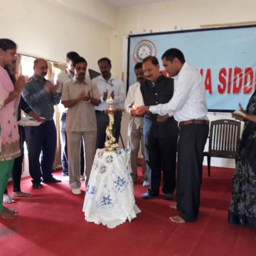 Report on the workshop held in SRSIT